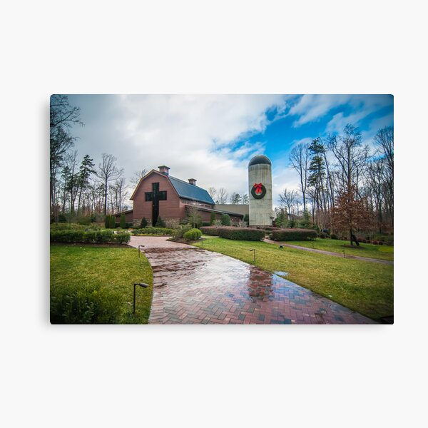 billy graham library Canvas Print