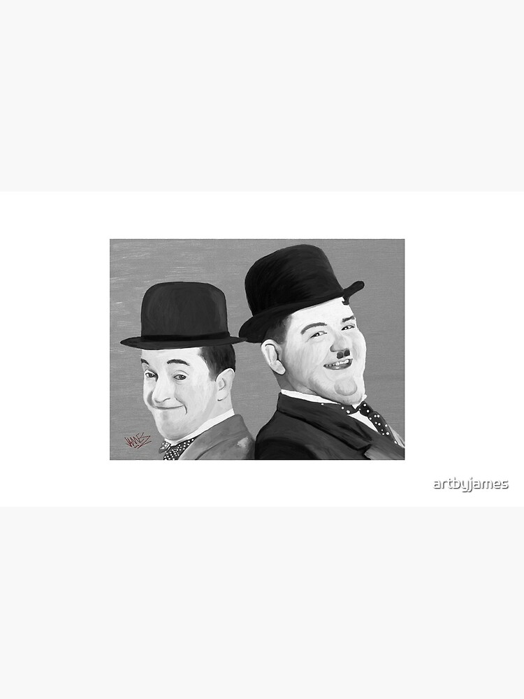 Laurel and Hardy by artbyjames