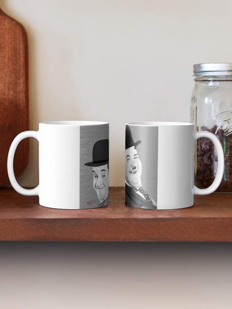 Alternate view of Laurel and Hardy Mug