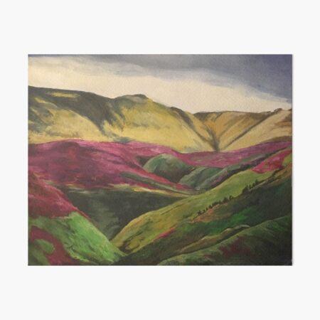 Storm Brewing Over North York Moors Art Board Print