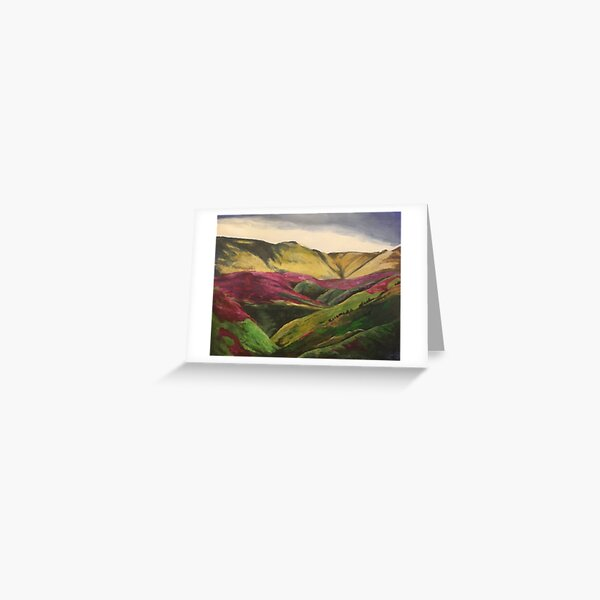 Storm Brewing Over North York Moors Greeting Card