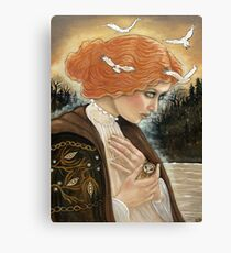 The Witching Doll Canvas Print