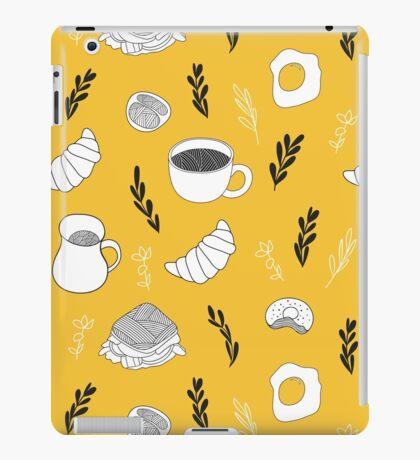 Yellow breakfast iPad Case/Skin