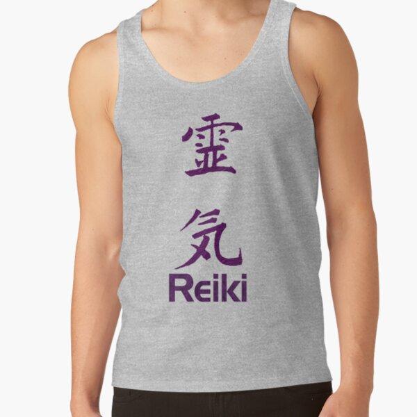 Reiki Symbol In Purple  Tank Top