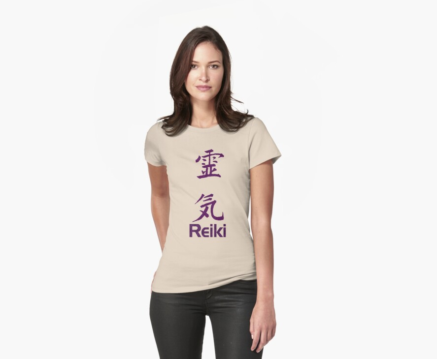 Reiki Symbol In Purple  by SmilinEyes
