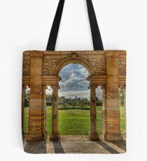Hever Castle gardens Tote Bag