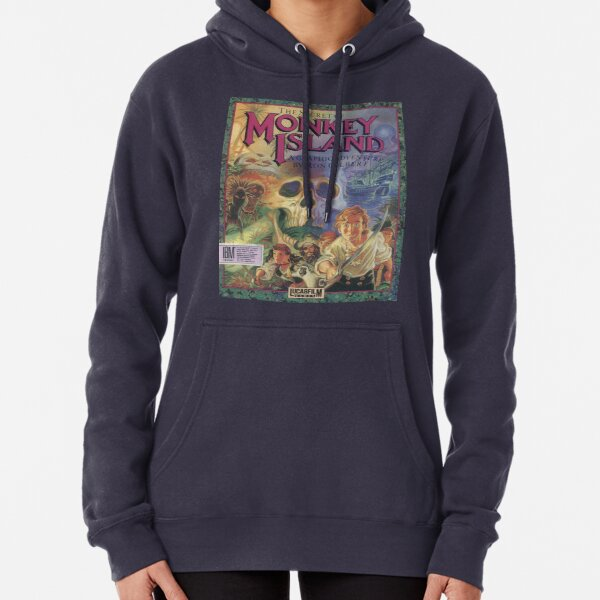 The Secret of Monkey Island Pullover Hoodie