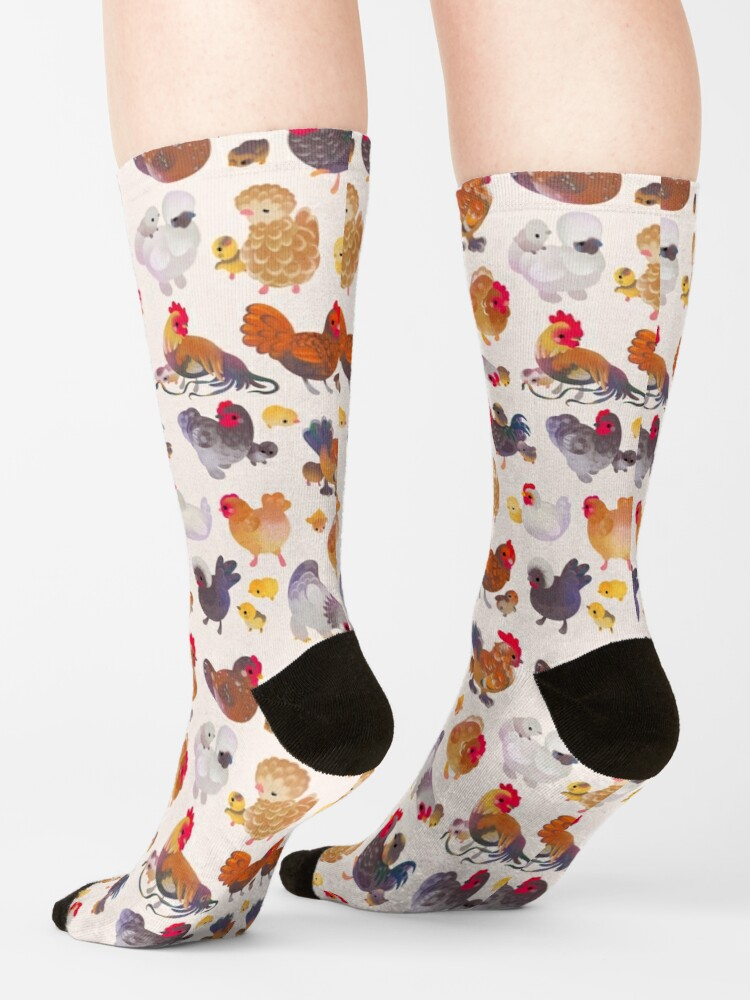 Alternate view of Chicken and Chick Socks