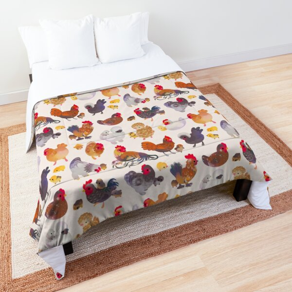 Chicken and Chick Comforter