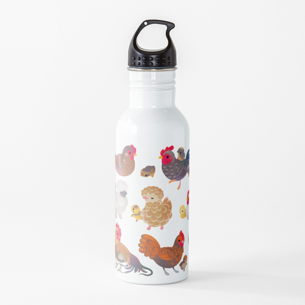 Chicken and Chick Water Bottle