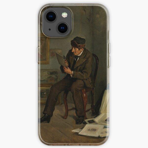 Adolf Von Becker - The Art Expert 1880 iPhone Soft Case