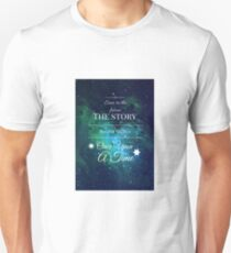 Once Upon a Time- The Lunar Chronicles- Marissa Meyer- Space T-Shirt