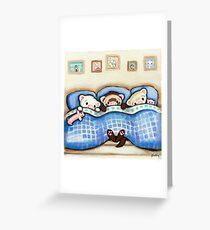 Beddy Bye Greeting Card
