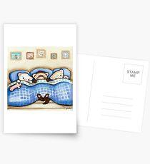 Beddy Bye Postcards