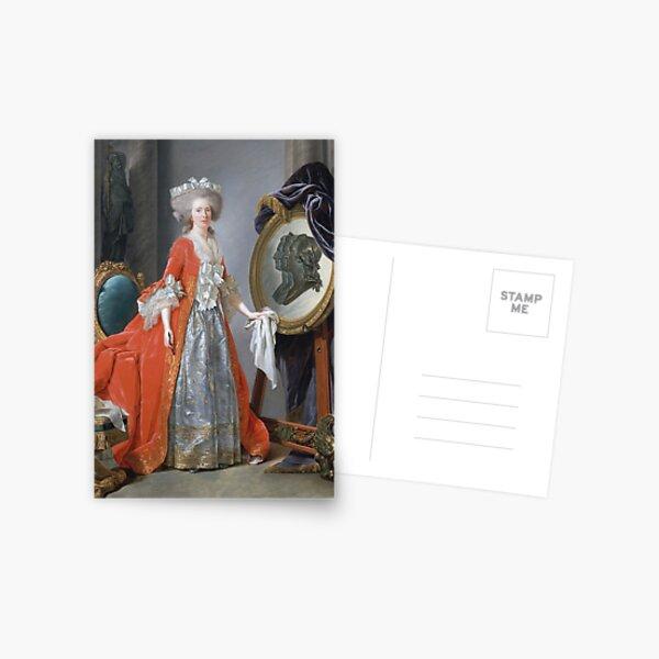 Adelaide Labille - Guiard - Madame Adelaide Postcard