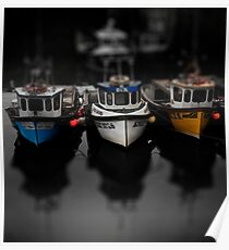 Crail Boats Poster