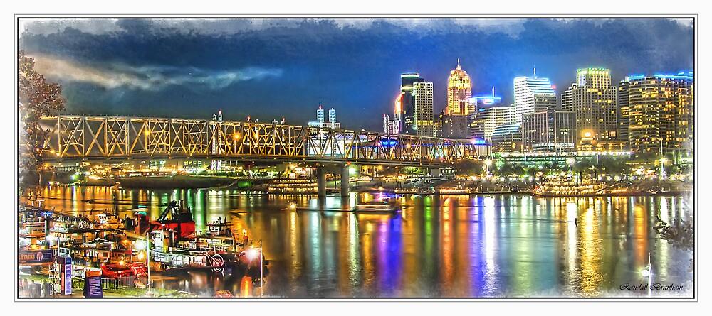 Cincinnati NIght Life by Randy Branham