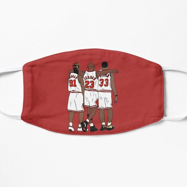 Rodman, MJ et Scottie Masque sans plis