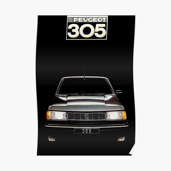 PEUGEOT 305 Poster