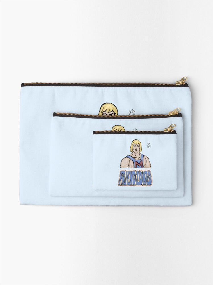 Alternate view of Friendzoned, 2014 Zipper Pouch