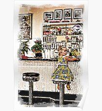 Rockin Robin's Soda Shop Poster