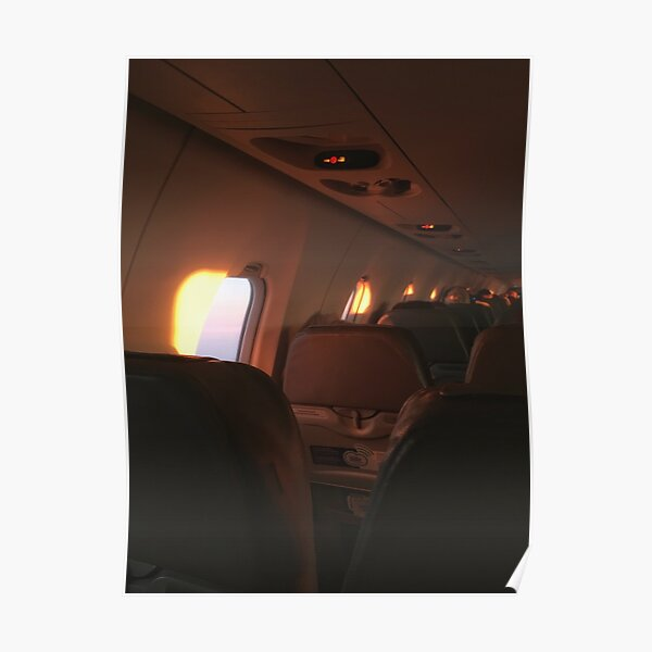 morning on a plane Poster