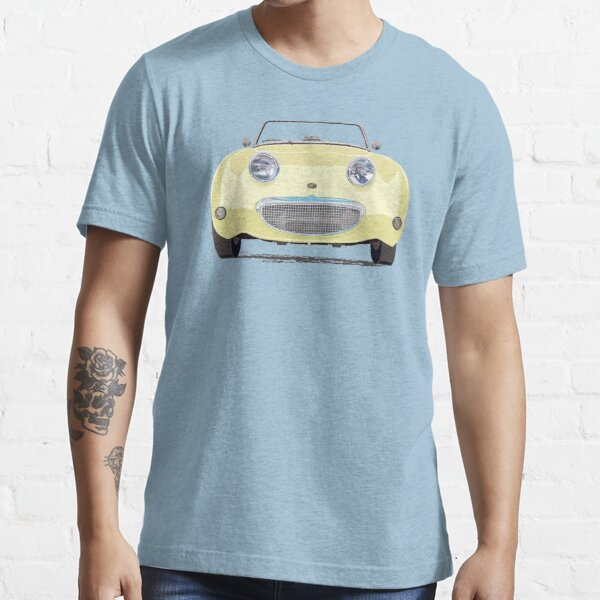 Primrose Yellow Frogeye/Bugeye Sprite, the little 'Healey' with a big smile! Essential T-Shirt