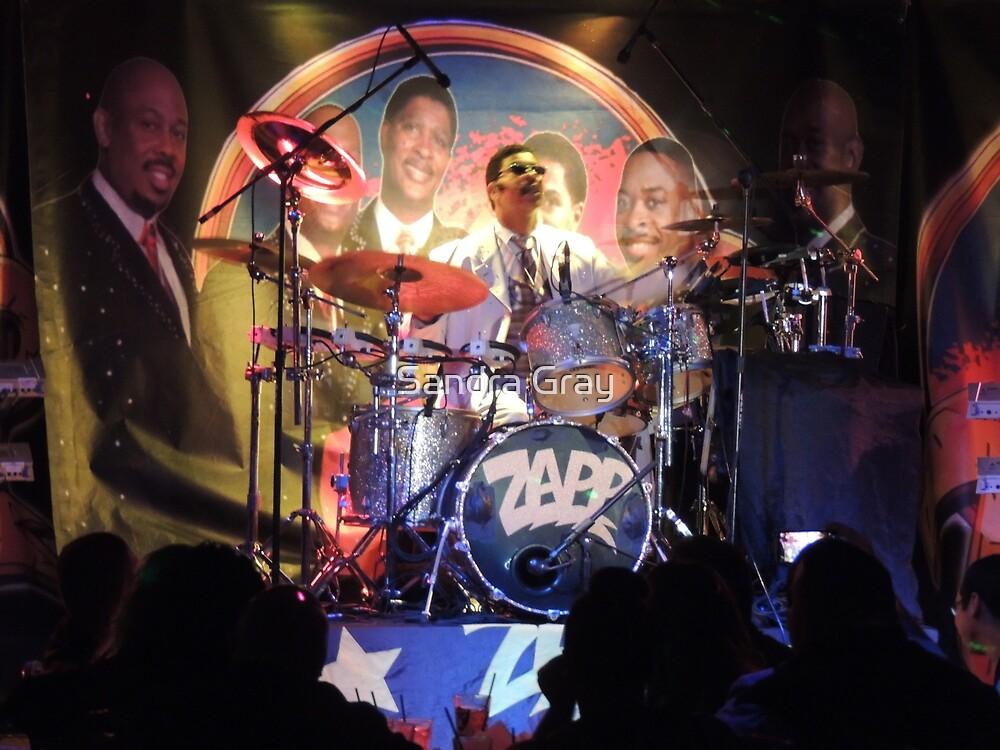 Zapp Band Drummer by Sandra Gray