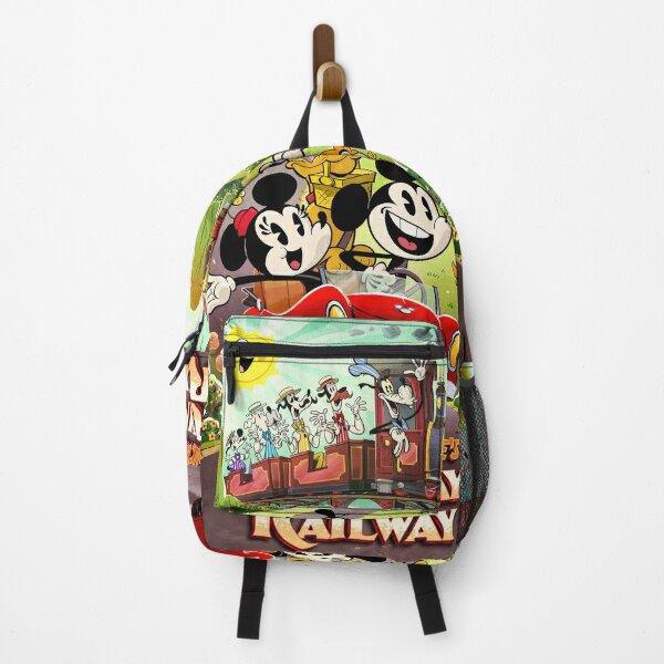 Runaway Railway Theme Park Ride Backpack