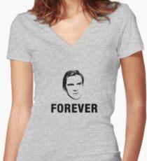 Matthew Forever Women's Fitted V-Neck T-Shirt
