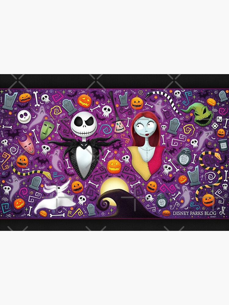 Halloween with Jack and Sally by americana-style