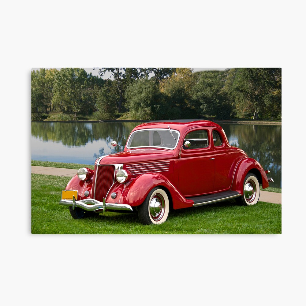 1936 Ford Coupe Leinwanddruck