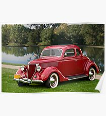 1936 Ford Coupe Poster
