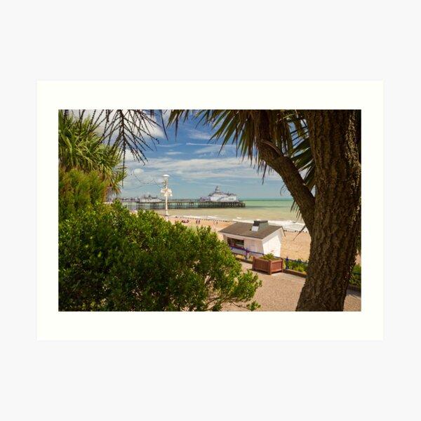 Tropical Eastbourne Art Print