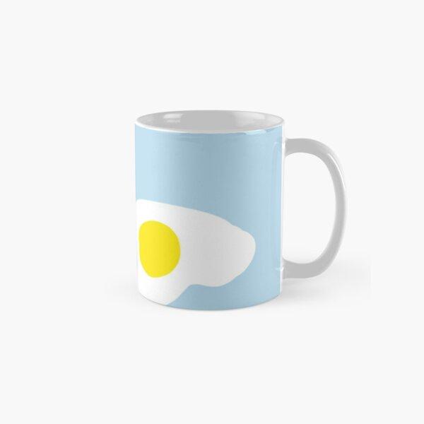 Fried Eggs Baby Blue Classic Mug