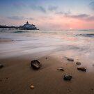 Eastbourne pier sunrise by willgudgeon