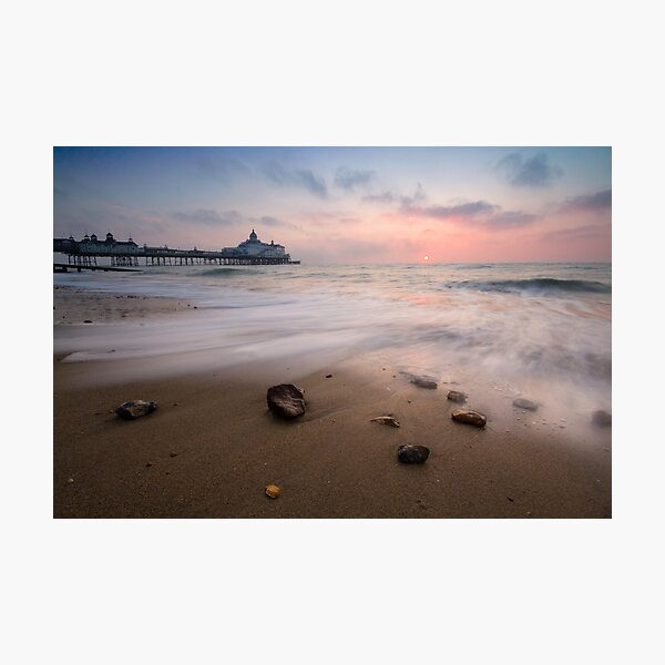 Eastbourne pier sunrise Photographic Print