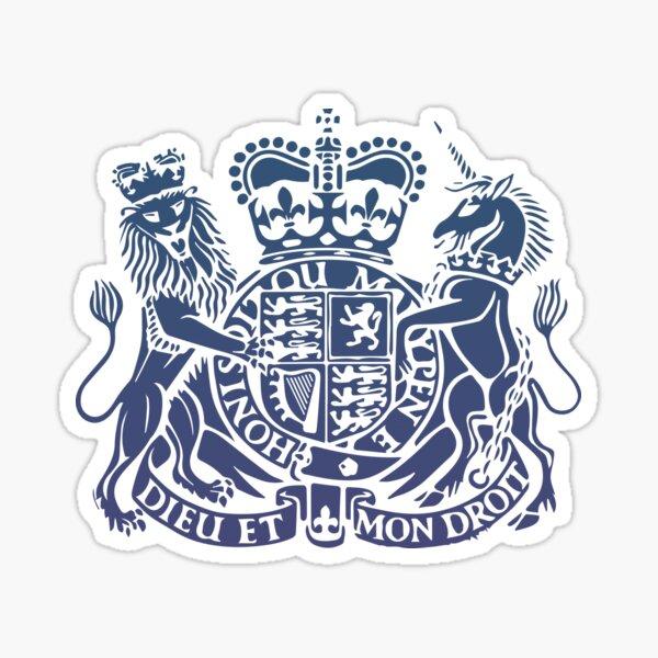 British BNO Passport/ Royal Arms Sticker