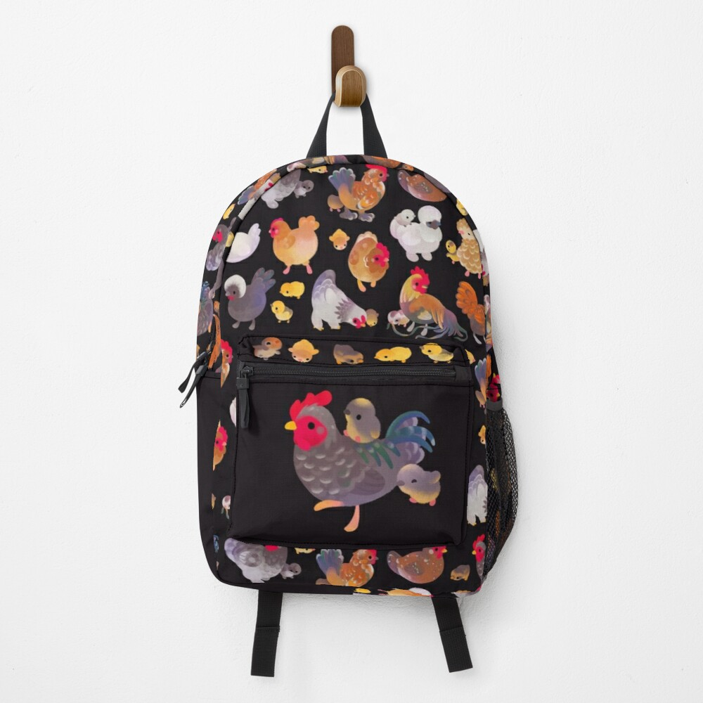 Chicken and Chick - dark Backpack