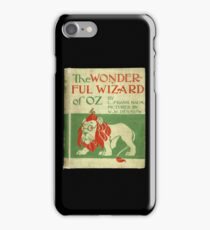 Vintage Wizard Of Oz Book Cover iPhone Case/Skin