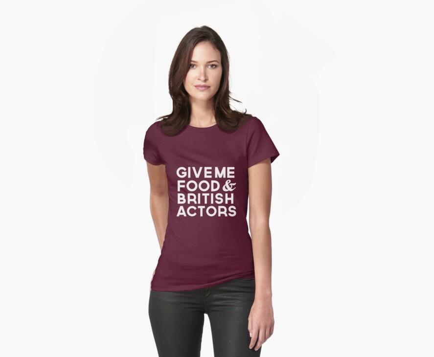Food & British Actors by thegreatqueen