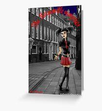 Eve Rosser (the morganville vampires) Greeting Card