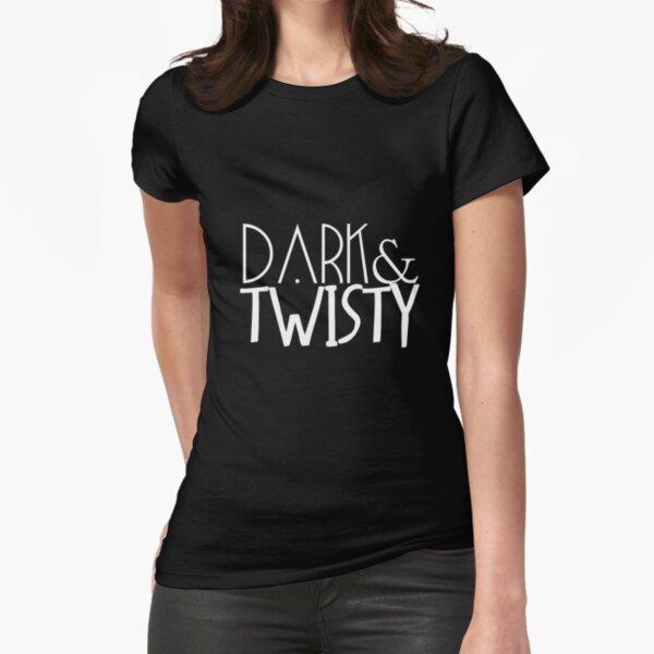 oscuro y retorcido Camiseta entallada