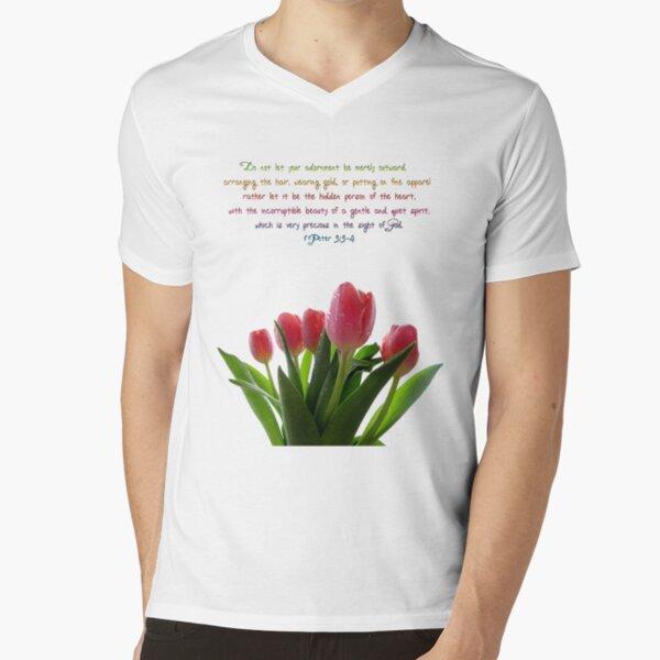 Adornment V-Neck T-Shirt