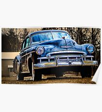 49 Chevy Deluxe Poster