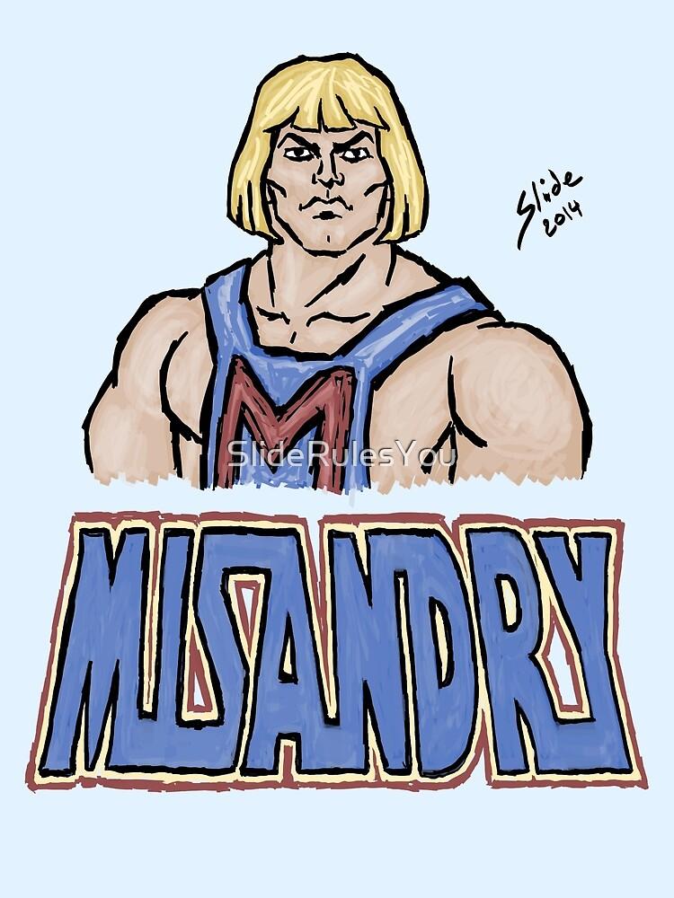 Misandry, 2014 by SlideRulesYou