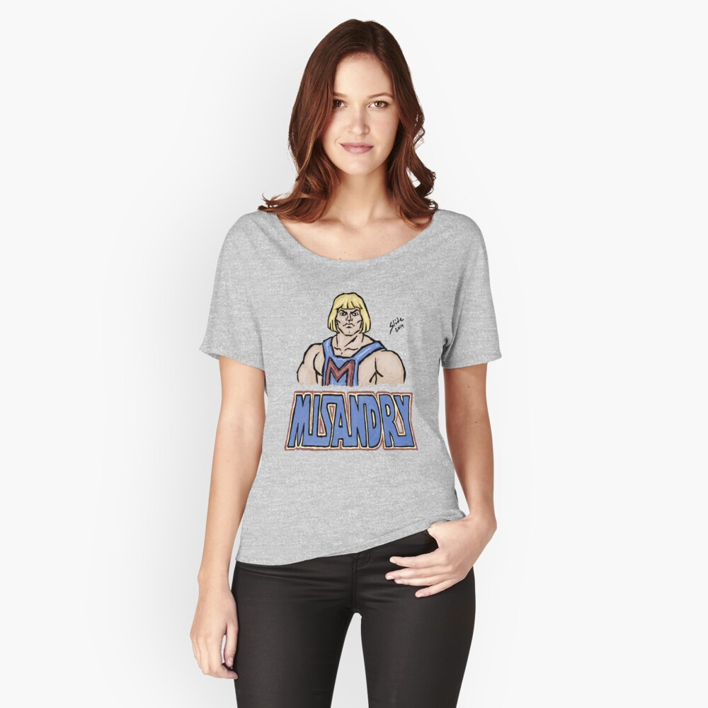 Misandry, 2014 Relaxed Fit T-Shirt