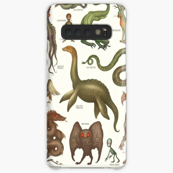 Cryptids, Cryptozoology species Samsung Galaxy Snap Case
