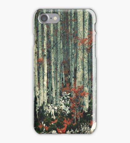 Trees case iPhone Case/Skin