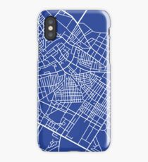 The blue city iPhone Case